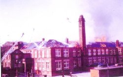 Govan High Fire June 1962