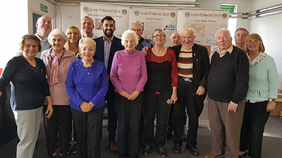 Humza Yousaf visits the Govan Reminiscence Group